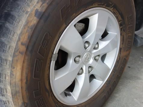 VIGOの純正タイヤ