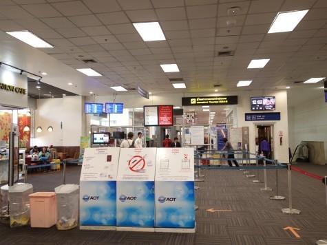 チェンマイ空港のイミグレ
