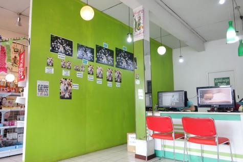 タイのDPEショップ店内