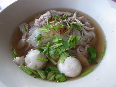 タイのラーメン