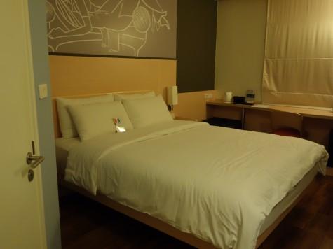 イビスホテルの部屋