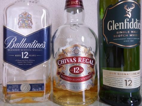 スコッチ飲み比べ