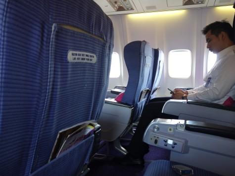 TG571便ビジネスクラスの座席