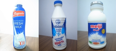 タイの低温殺菌牛乳