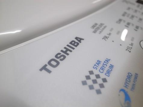 東芝製全自動洗濯機